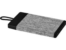 Портативное зарядное устройство Avenue Weave, серое, 4000 mAh фото