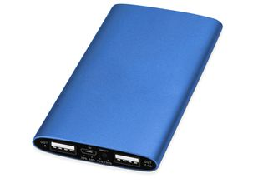 Портативное зарядное устройство Мун, голубое, 4400 mAh фото