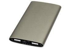 Портативное зарядное устройство Мун, золотое, 4400 mAh фото