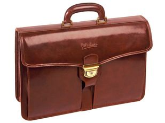 Портфель Имперский, коричневый фото
