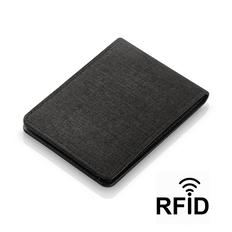Портмоне с RFID - защитой от считывания данных кредиток, черный фото