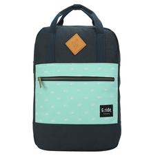 Рюкзак для ноутбука 13'' G.Ride Diane, 8 л, синий / зеленый фото