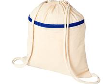 Рюкзак Oregon с карманом на молнии, бежевый/синий фото
