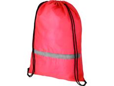 Рюкзак Oriole со светоотражающей полосой, розовый фото
