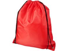 Рюкзак Oriole из переработанного ПЭТ, красный фото