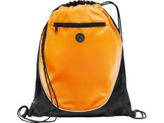 Рюкзак Peek, черный/ оранжевый фото