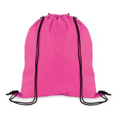 Рюкзак, розовый, из полиэстера фото