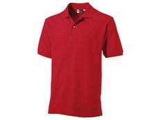 Рубашка поло мужская US Basic Boston, красная фото