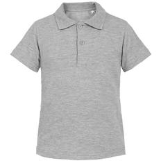 Рубашка поло детская Virma Kids, серый меланж фото