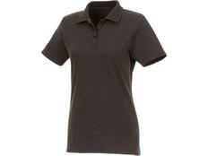 Рубашка поло Helios женская, коричневая фото
