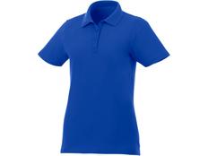 Футболка поло женская Elevate Liberty, синяя фото