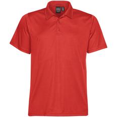 Рубашка поло с 3 пуговицами мужская Stormtech Eclipse H2X-Dry, красная фото