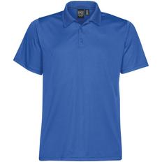 Рубашка поло с 3 пуговицами мужская Stormtech Eclipse H2X-Dry, синяя фото