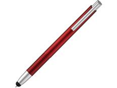Ручка стилус шариковая пластиковая Giza, красная фото
