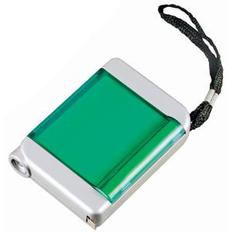 Рулетка 4 в 1, серый, зеленый фото