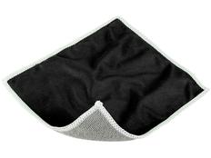 Салфетка для экранов, полиэстер, черная фото