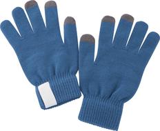 Сенсорные перчатки Scroll, синие фото