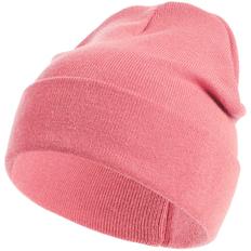Шапка с регулируемым отворотом Teplo Glenn, розовая фото