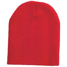 Шапка Спорти, универсальный размер, красный фото