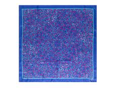 Шарф Blossom, синий фото