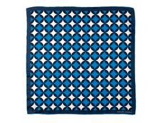Шелковый платок Boogie, синий фото