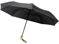 Зонт складной автомат Avenue Bo, черный фото