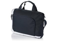 Конференц сумка для документов, черный/ белый фото