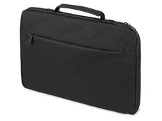 Сумка для ноутбука 13'' Flank, чёрная, с боковой молнией фото