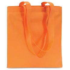Сумка для покупок, 80 гр/м2, оранжевый фото