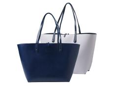 Сумка для шопинга Tourbillon, тёмно-синяя фото