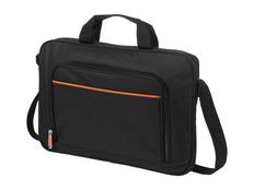 Сумка Harlem для ноутбука 14, черный, оранжевый фото