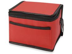 Сумка-холодильник Альбертина, черный/ красный фото