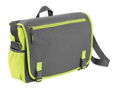 Сумка Punch для ноутбука 15,6, зеленый/ серый фото