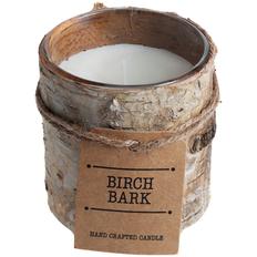 Свеча Birch Bark, малая фото