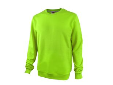 Свитшот унисекс Motion с начесом, зеленый фото