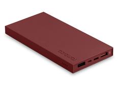 Внешний аккумулятор Rombica NEO ARIA, бордовый, 10000 mAh фото