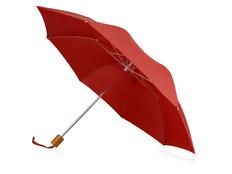 Зонт складной механический Oho, красный фото