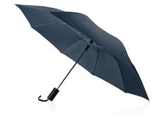 Зонт складной Андрия, тёмно-синий фото