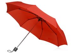 Зонт складной механический Columbus, красный фото