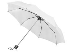 Зонт складной механический Columbus, белый фото