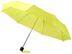 Зонт складной механический Ida, желтый фото