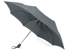 Зонт складной полуавтомат Irvine, серый фото