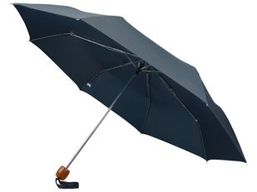 Зонт складной механический Oliviero, темно-синий фото