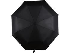 Зонт складной автомат Спенсер, черный фото