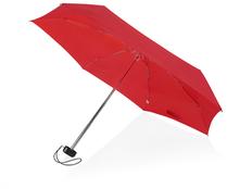 Зонт складной компактный в футляре механический Stella 16см, красный / черный фото