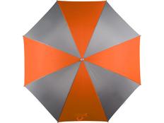 Зонт-трость Форсайт, серо-коричневый фото