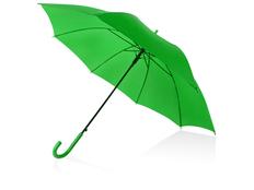 Зонт трость полуавтомат Яркость, зеленый фото