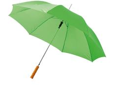 Зонт трость полуавтомат Lisa, светло-зеленый фото