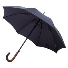 Зонт трость полуавтомат Matteo Tantini Palermo, темно-синий фото