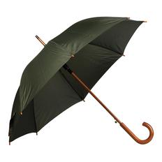 Зонт трость полуавтомат Денди, темно-зеленый фото